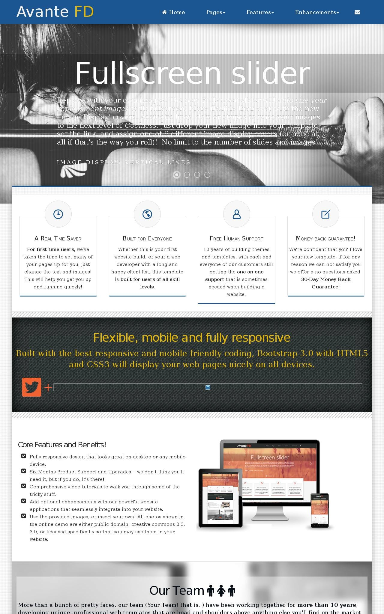 Tablet: Chiropractic Wordpress Theme