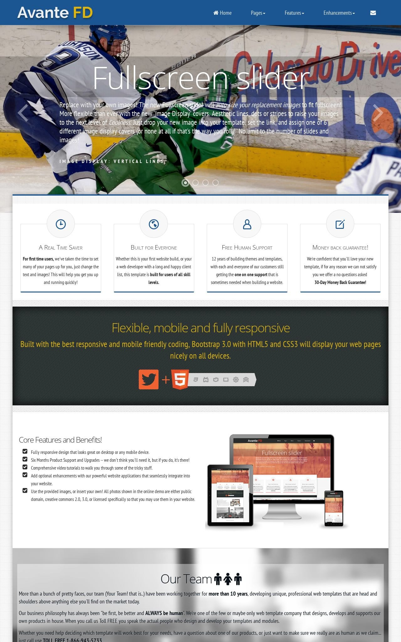Hockey Wordpress Themes