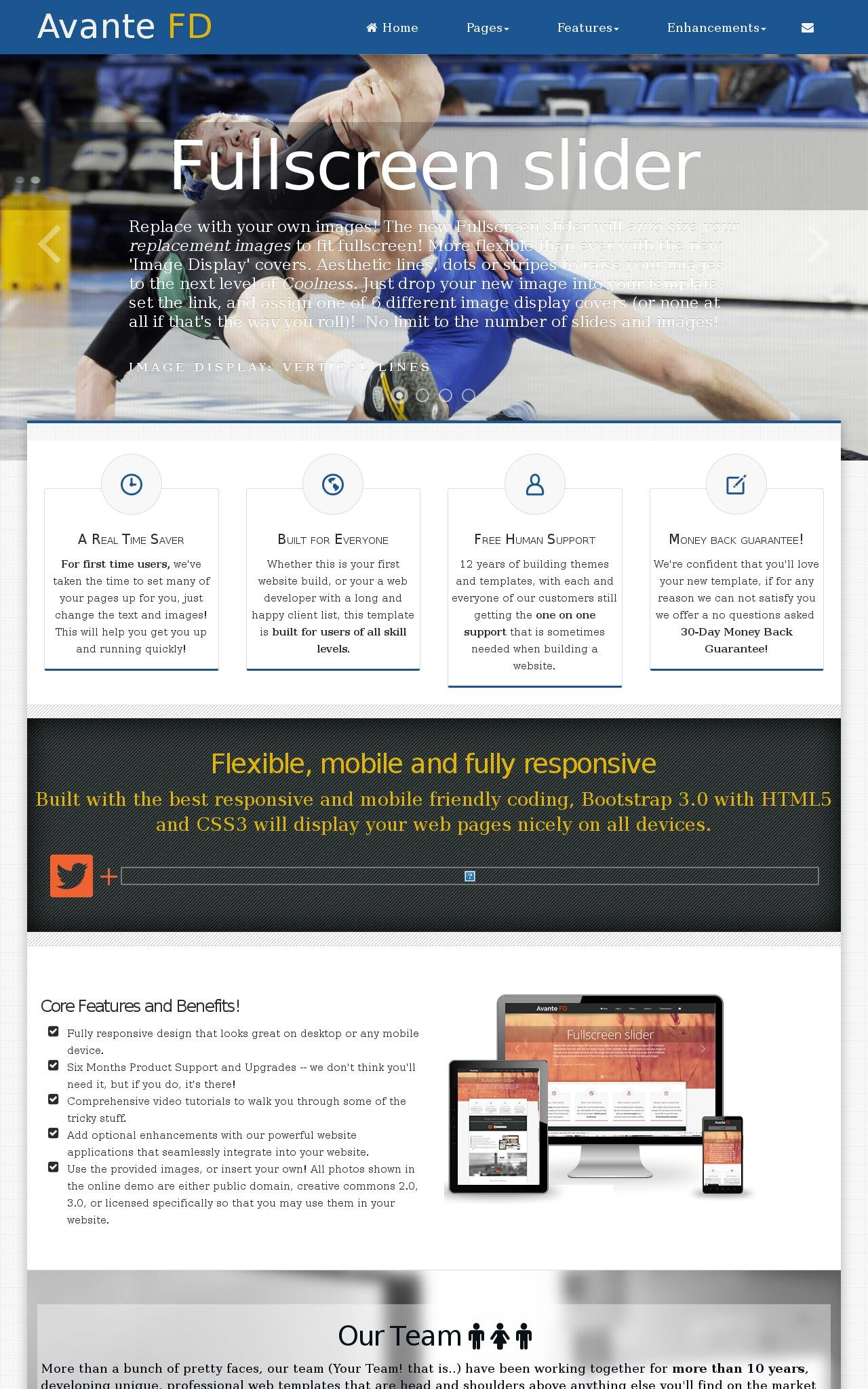 Wrestling Wordpress Themes