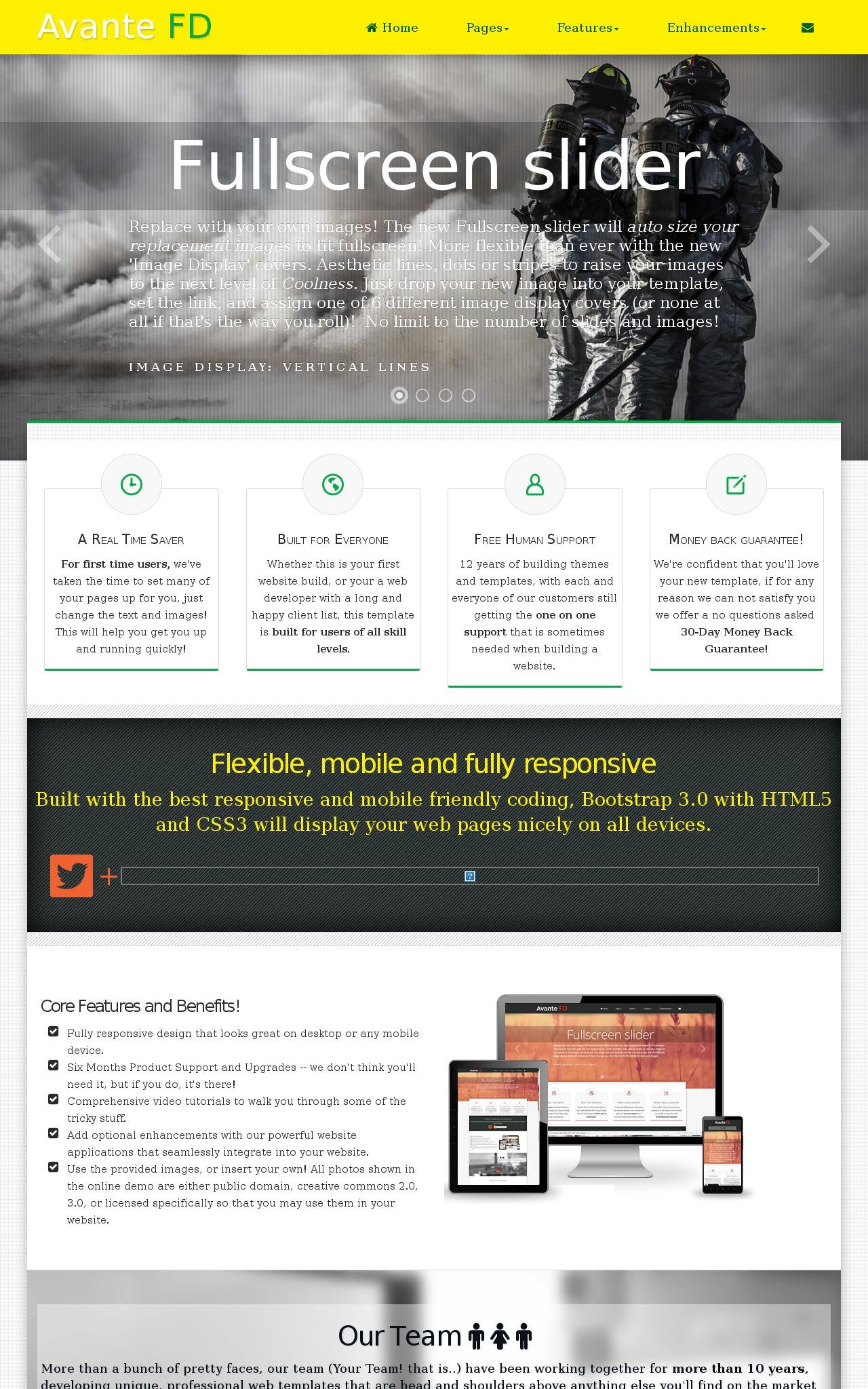 Firefight Wordpress Themes