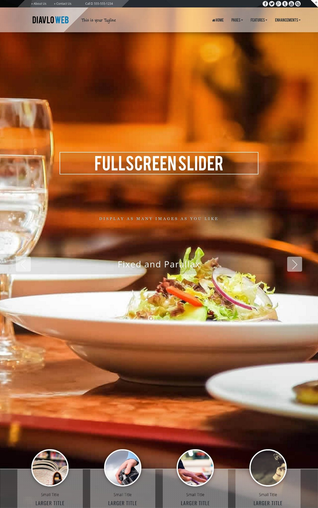 Restaurant Web Templates