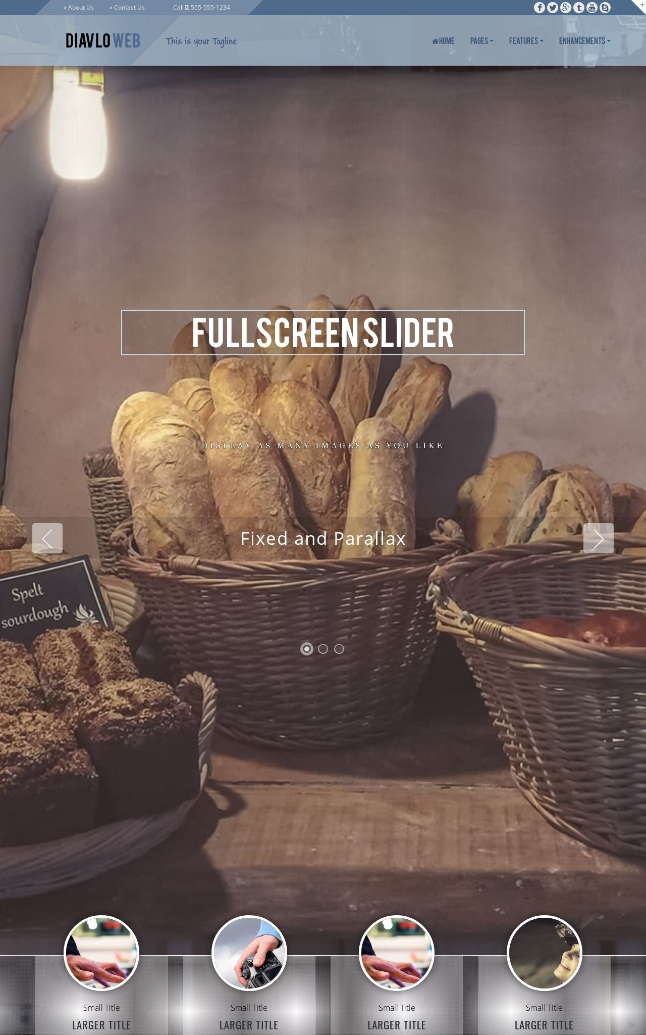 Bakery Web Templates