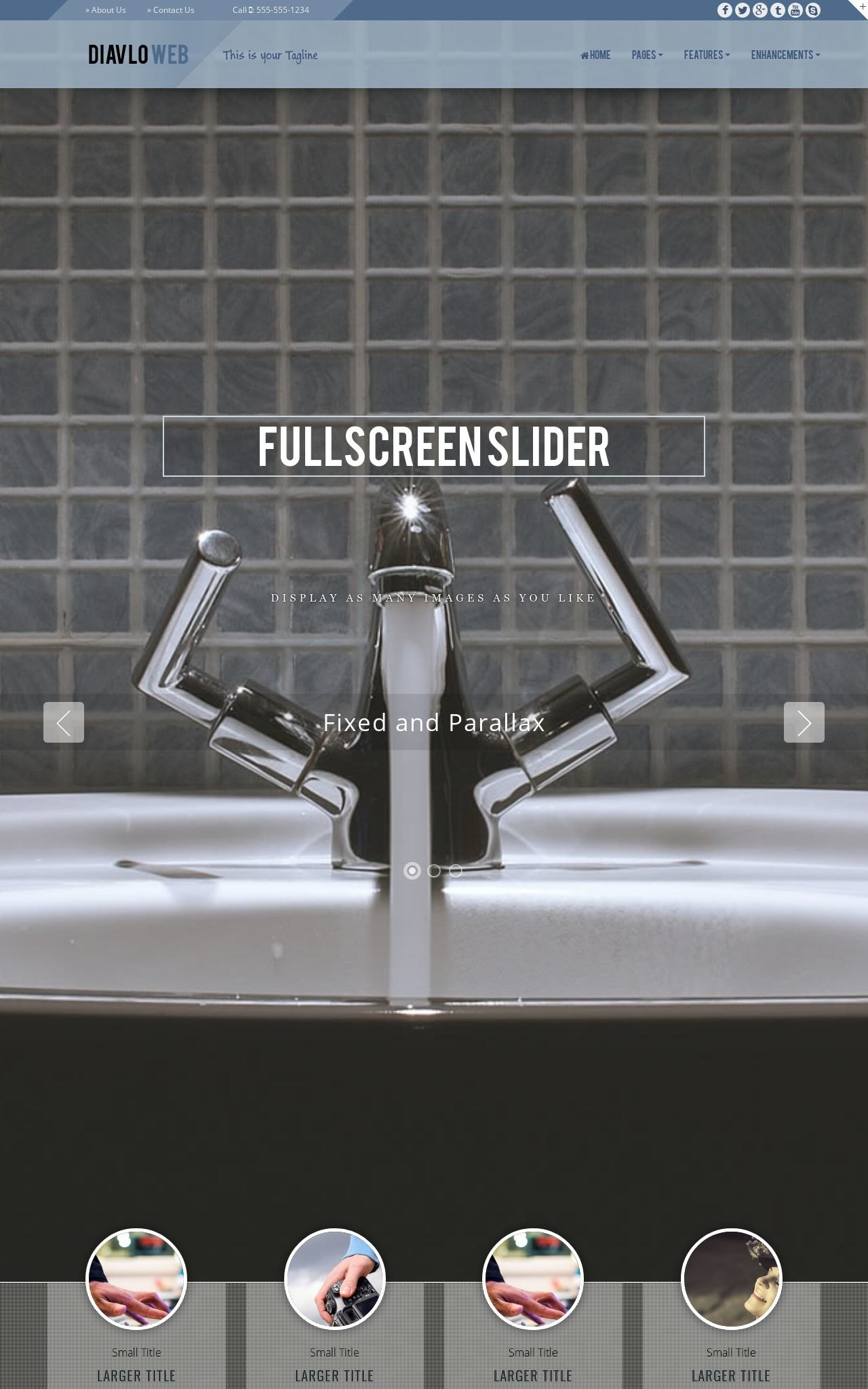 Tablet: Plumbing Dreamweaver Template