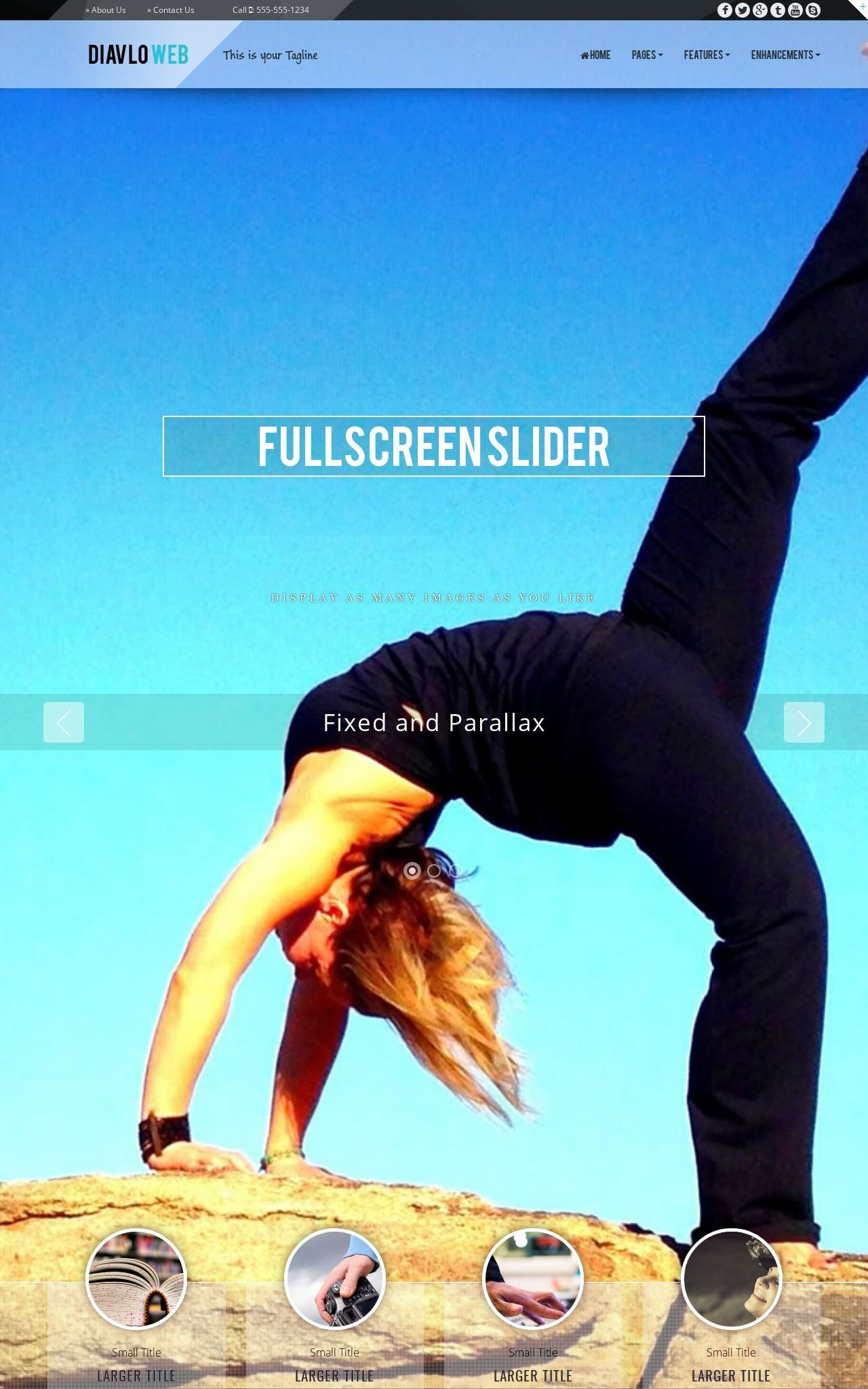 Yoga Dreamweaver Templates