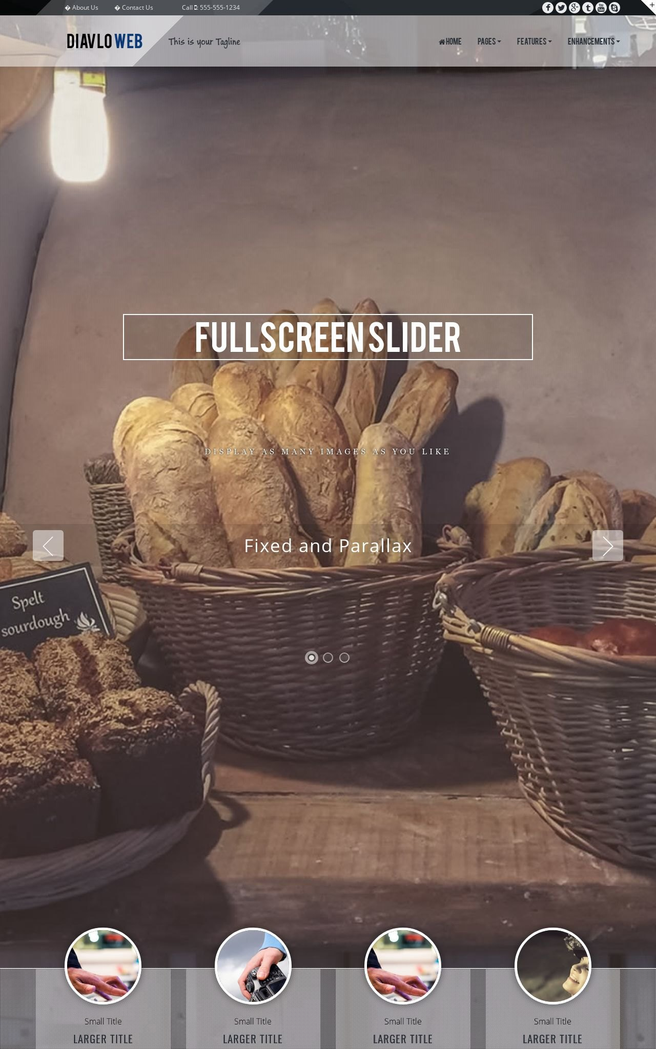 Bakery Dreamweaver Templates