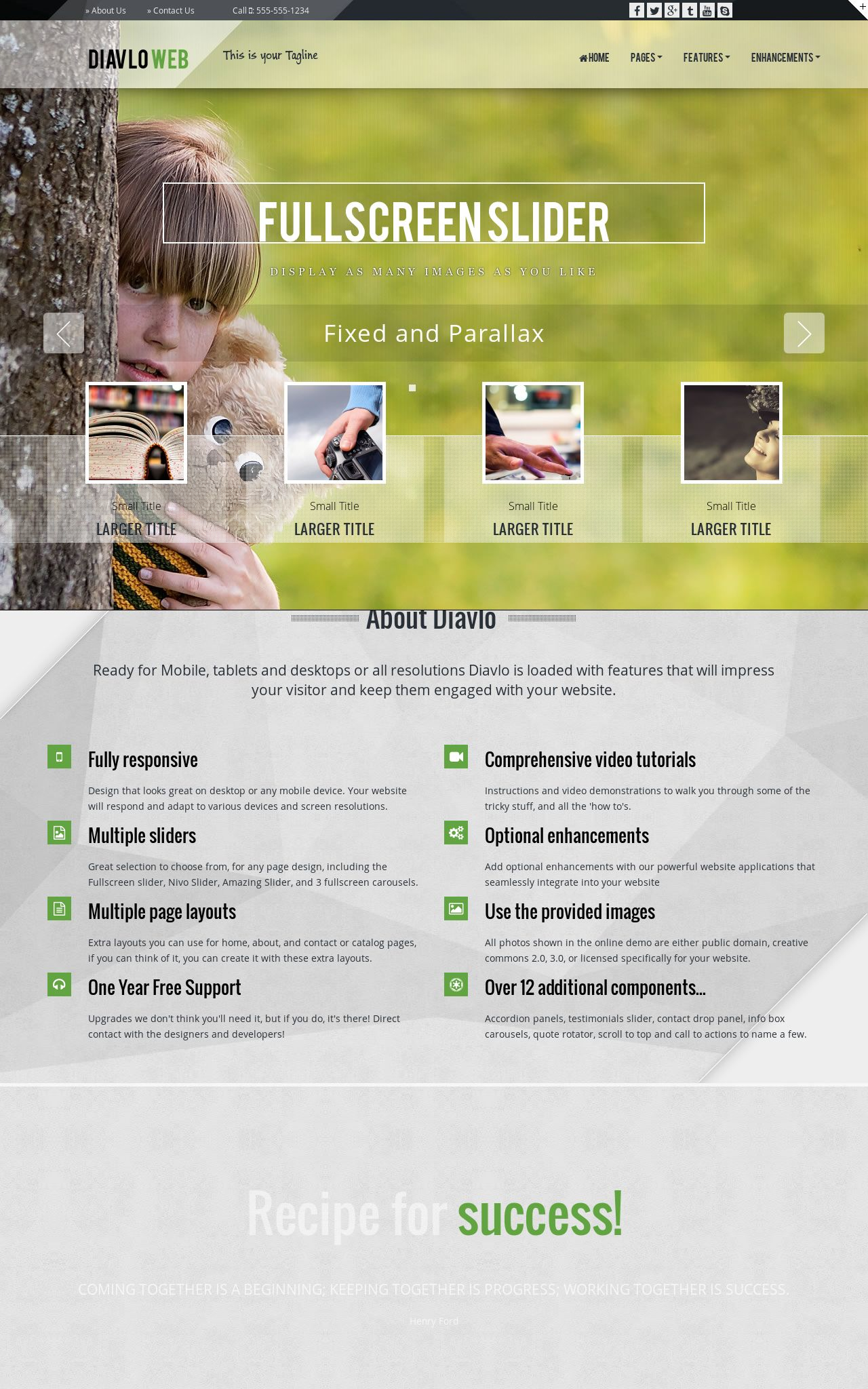 Desktop: Arborist Web Template