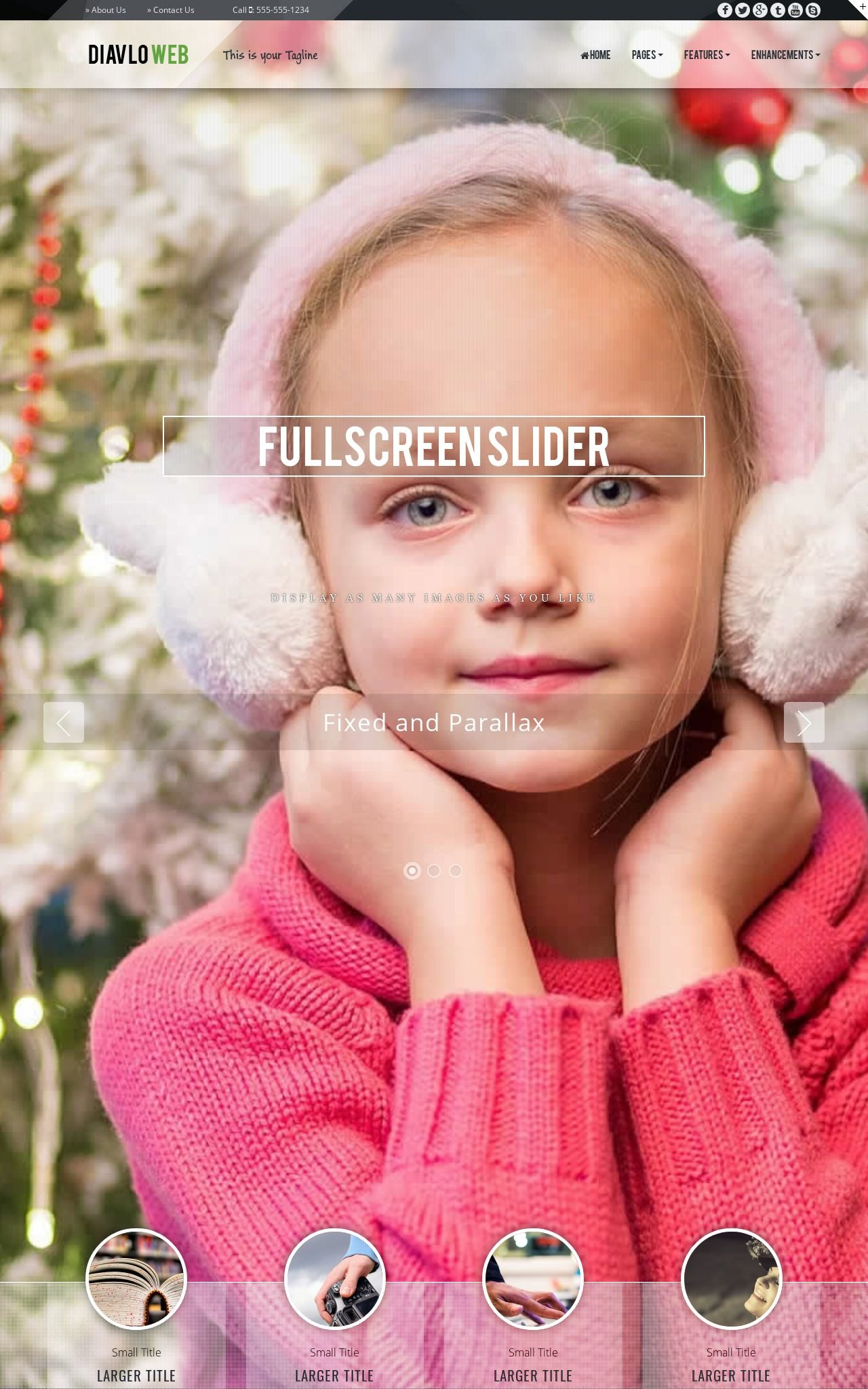 Christmas Dreamweaver Templates