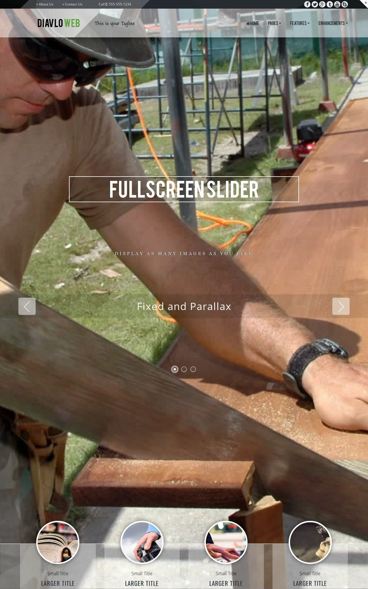 Finish-carpentry Web Templates