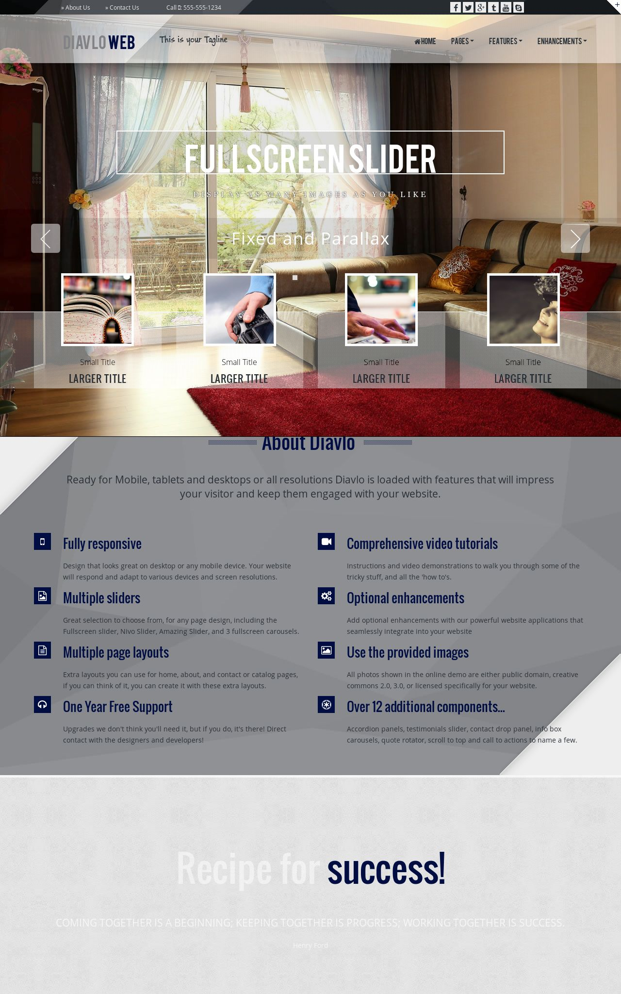 Real-estate Dreamweaver Templates