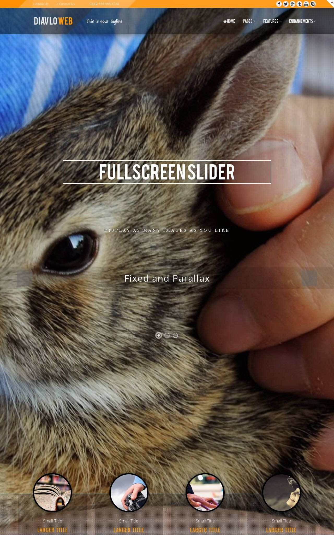 Tablet: Pet-store Web Template