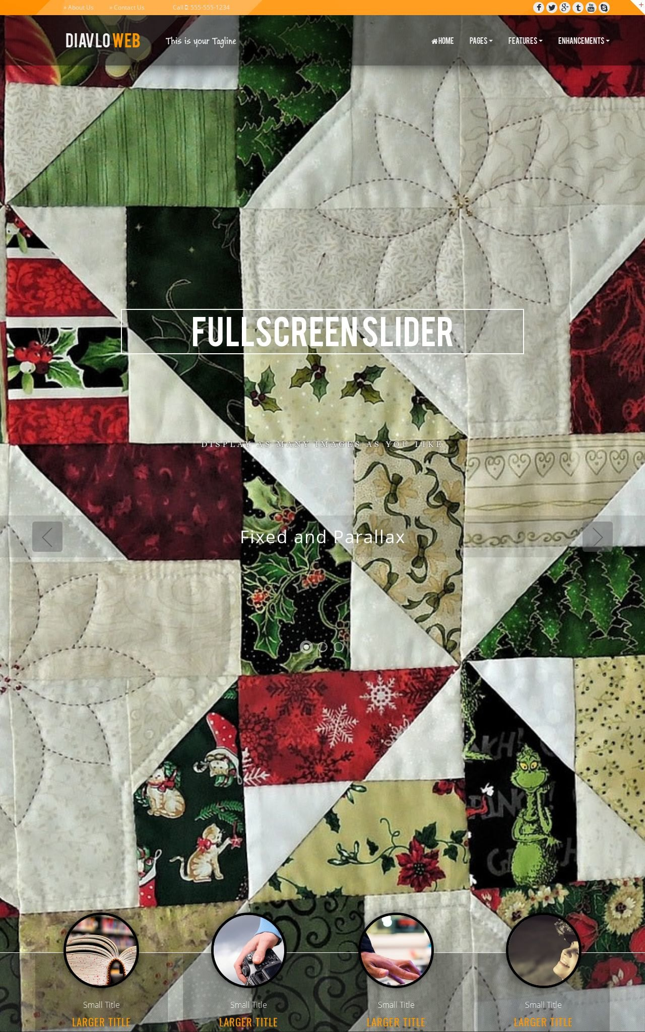 Quilting Dreamweaver Templates