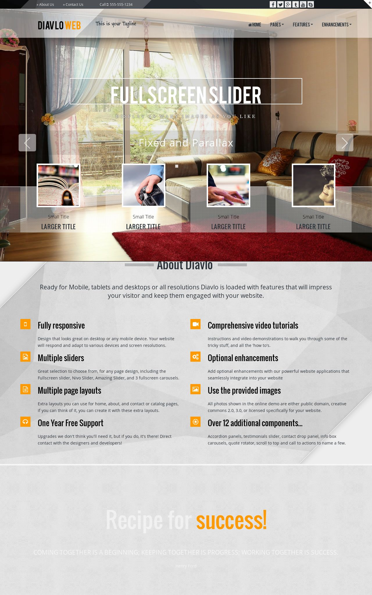Real-estate Web Templates
