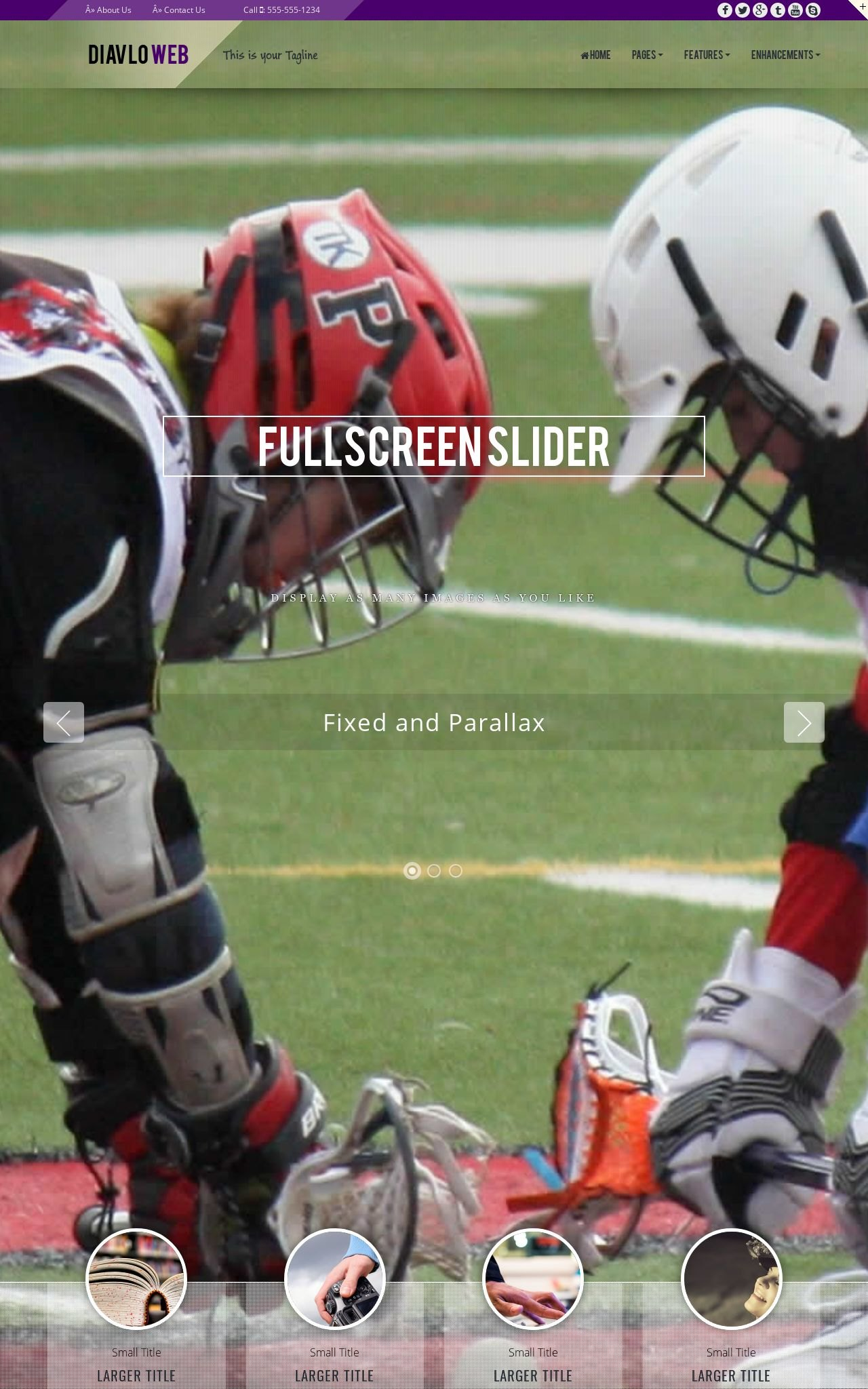 Tablet: Lacrosse Dreamweaver Template
