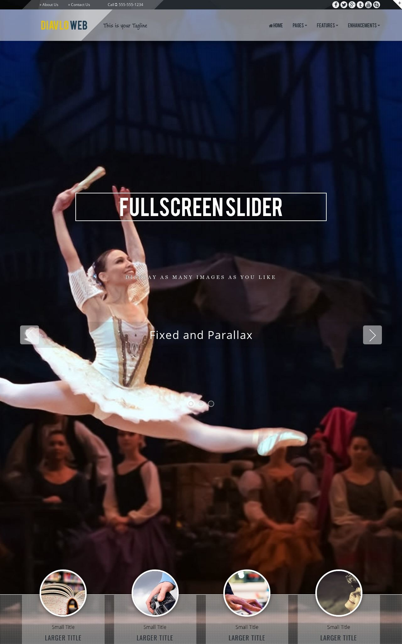 Dance Web Templates
