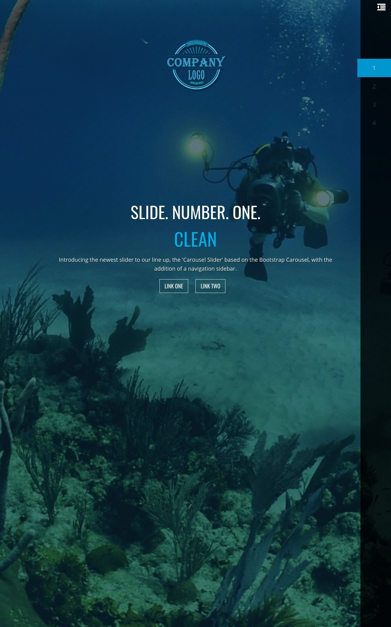 Scuba-diving Wordpress Themes