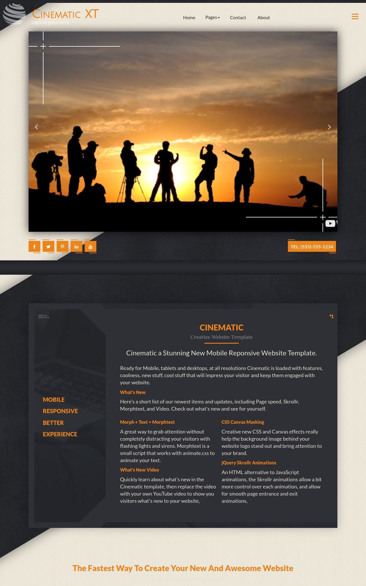 Multi-purpose Frontpage Templates