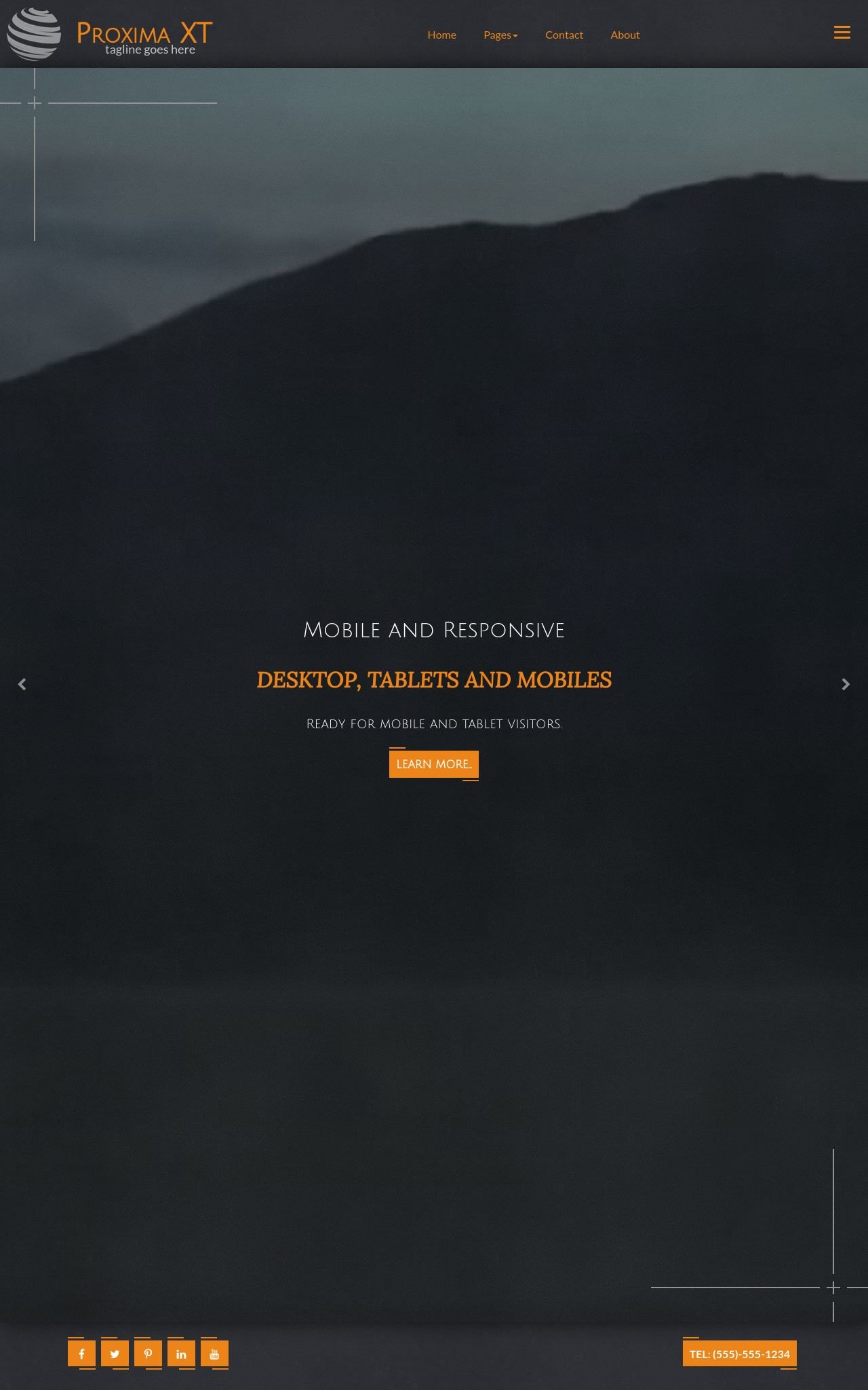 Tablet: Multi-purpose Web Template