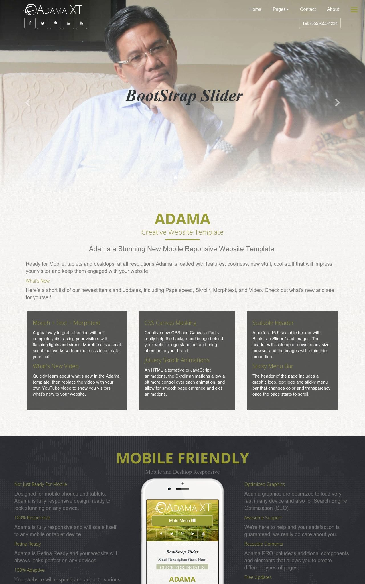 Tablet: Counseling Web Template