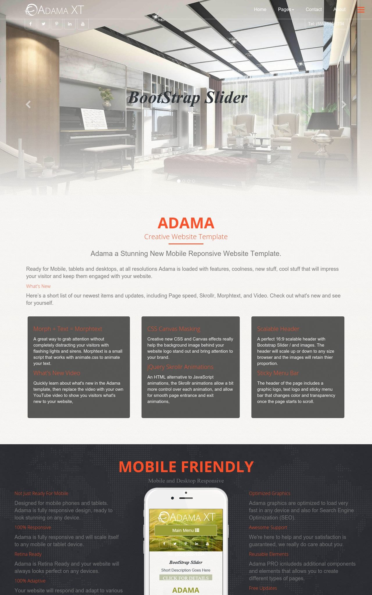 Interior-design Web Templates